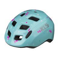 Шлем детский KLS ZIGZAG голубой