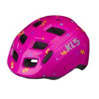 Шлем детский KLS ZIGZAG розовый
