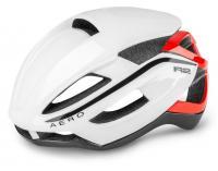 Шлем R2 Aero белый/красный глянцевый