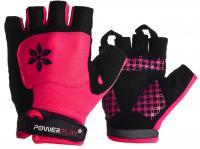 Велорукавички PowerPlay 5284C рожеві