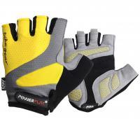 Велоперчатки летние 5004B (желтые)