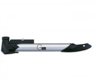 Мінінасос Green Cycle GPM-197 алюмінієвий телескопічний, presta + schrader, сріблястий