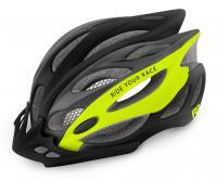 Шлем R2 Wind 2020 черный/лайм матовый