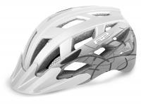 Шлем R2 Lumen 2020 бело-серый матовый