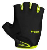 Перчатки R2 Riley черный/лайм
