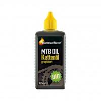 Смазка Hanseline для цепи Bio-MTB-Oil,125мл