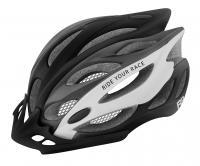 Шлем R2 Wind черный/серый/белый матовый