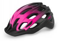 Шлем R2 Cliff черный/розовый матовый