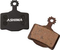 Тормозные колодки Ashima AD0704-SM-S для AVID ELIXIR R, CR полуметалл