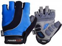 Велоперчатки летние 5037A черно-синие