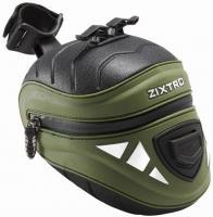 Велосумка ZIXTRO Track подседельная зеленая
