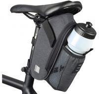 Сумка под седло Sahoo Essential 131464-SA с карманом для бутылки черный