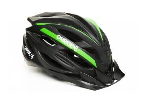 Шлем ONRIDE GRIP матовый черный/зеленый