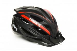 Шлем ONRIDE GRIP матовый черный/красный