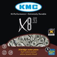 Цепь KMC X8.93, 6/7/8 скоростей