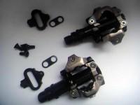 Педали контактные Shimano PD-M520 SPD MTB + шипы