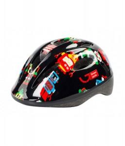 Шлем детский Green Cycle ROBOTS черный