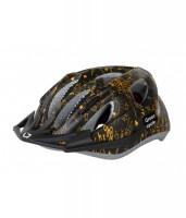 Шлем детский Green Cycle FAST FIVE черно-золотистый