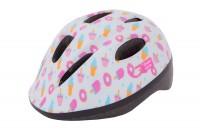 Шлем детский Green Cycle Sweet белый/розовый лак