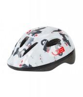 Шлем детский Green Cycle KITTY белый