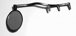 Зеркало заднего вида с креплением на велоочки