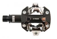 "Педаль Look X-TRACK алюминий, ось chromoly 9/16"", тёмно-серая"