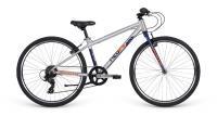 """Велосипед 26"""" Apollo NEO 7s boys Brushed Alloy/Navy Blue/Pearl Orange"""
