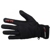 Велоперчатки зимние 6916 (черные) с утеплением