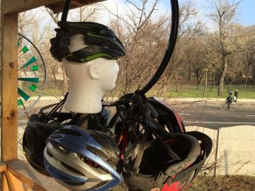 Отдай свой шлем, побывавший в аварии, и получи 20% скидки на покупку нового