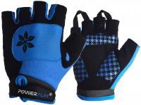 Велорукавички 5284D блакитні