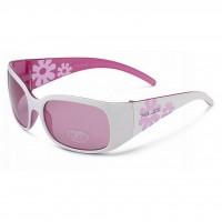 Очки детские XLC  Maui SG-K03 оправа белый/розовый, линзы розовые