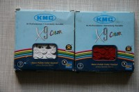 Цепь KMC X9 Color, 9ск, 116зв