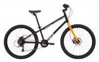 "Велосипед 24"" Pride GLIDER 4.2 2021 чорний (гальма RADIUS)"