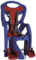 Сидіння задн. Bellelli Pepe Standart Multifix до 22кг, синє з червоною підкладкою