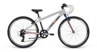 "Велосипед 26"" Apollo NEO 7s boys Brushed Alloy/Navy Blue/Pearl Orange"