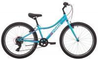 """Велосипед 24"""" Pride LANNY 4.1 бірюзовий 2019"""