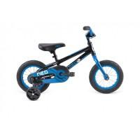 "Велосипед 12"" APOLLO Neo Boys Gloss Charcoal / Gloss Blue"