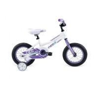 """Велосипед 12"""" APOLLO Neo Girls бело-фиолетовый (глянцевый)"""