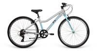 "Велосипед 26""  Apollo NEO 7s girls Brushed Alloy/Sky Blue/Charcoal"